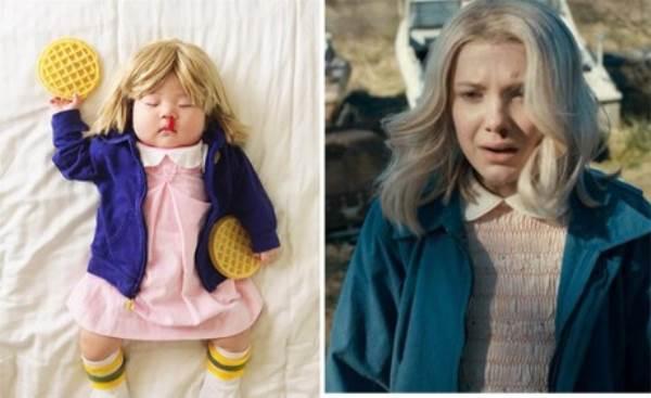 Bé gái 4 tháng tuổi nổi tiếng vì đóng giả nhân vật phim lúc ngủ - Ảnh 13