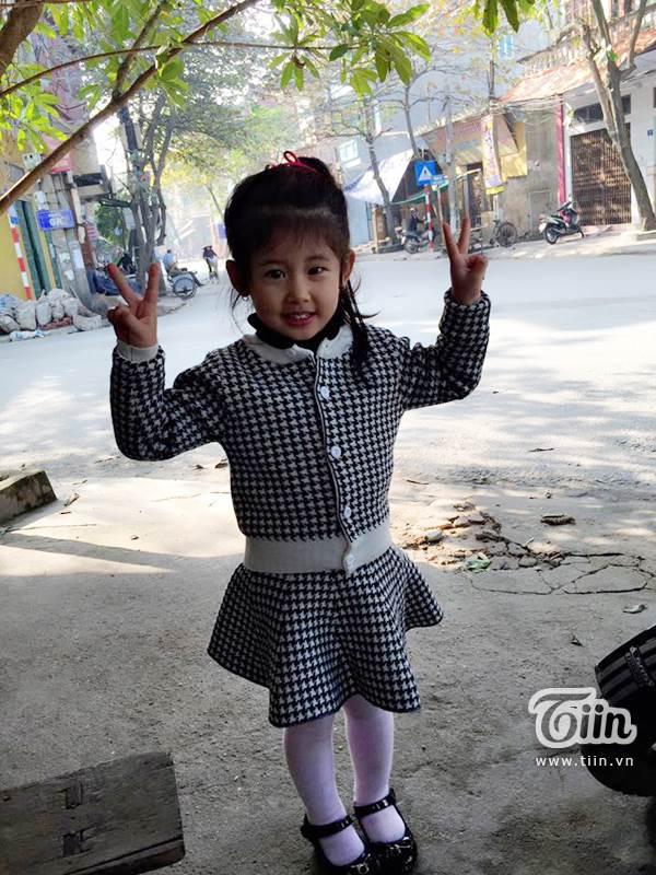 Hình ảnh đời thường đáng yêu của 'tiểu Lưu Diệc Phi' 4 tuổi - Ảnh 5