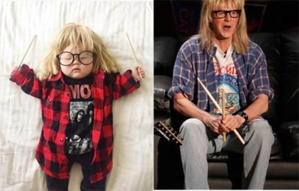Bé gái 4 tháng tuổi nổi tiếng vì đóng giả nhân vật phim lúc ngủ - Ảnh 14