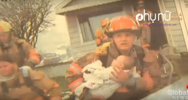 Cứu bé gái 9 tháng tuổi ra khỏi đám cháy, kết quả sau 17 năm thật bất ngờ - Ảnh 1
