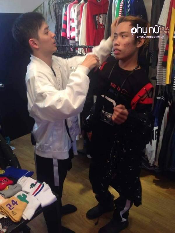 Hot boy xăm trổ chi 2000 USD cho Tùng Sơn sửa hết mặt vì mục đích này - Ảnh 4