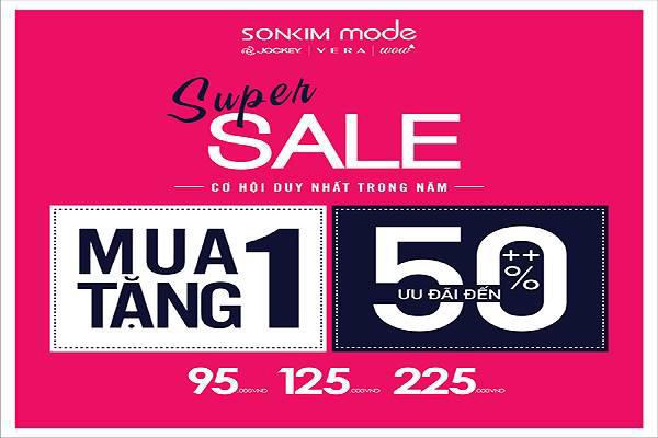 Sonkim Mode khuyến mãi mua 1 tặng 1 từ ngày 11 - 14/08/2016 - Ảnh 1