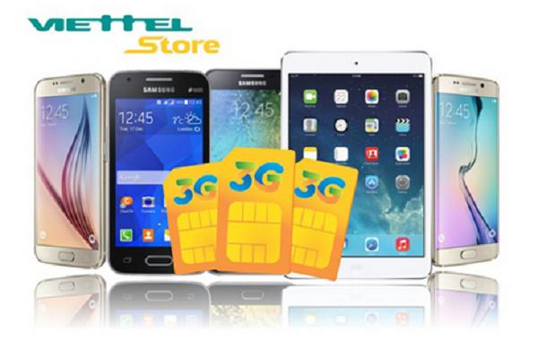 Ưu đãi khi mua sim 3G tại Viettel Store từ tháng 7/2016 - Ảnh 1