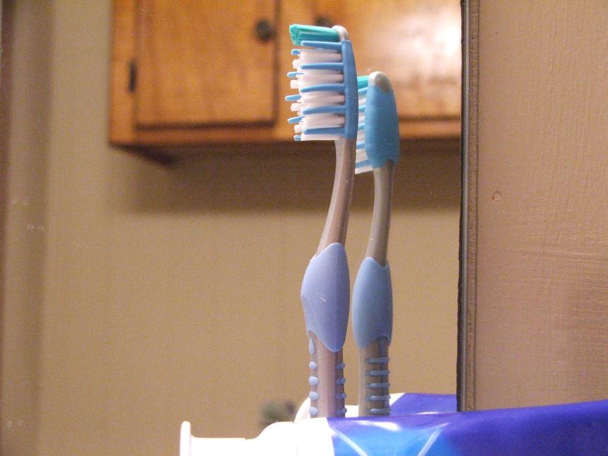 Cả trăm triệu vi khuẩn trên bàn chải đánh răng - Ảnh 2