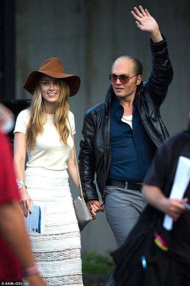Johnny Depp và Amber Heard đã bí mật kết hôn - Ảnh 5