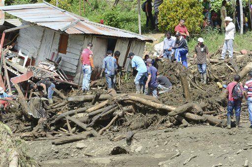 Lũ quét, đất lở chôn vùi 52 người ở <a target='_blank' href='https://www.phunuvagiadinh.vn/colombia.topic'>Colombia</a> - Ảnh 1
