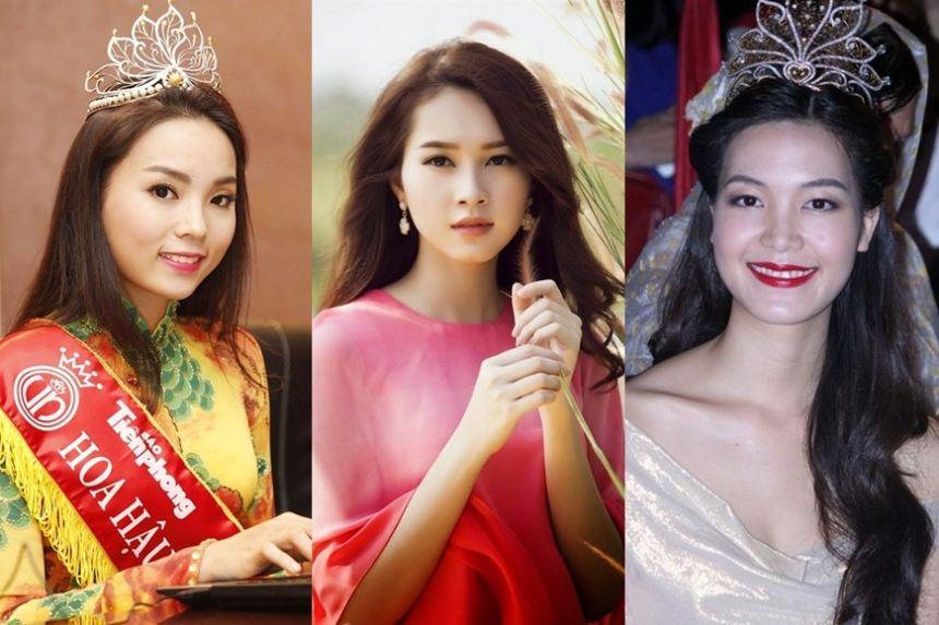 Điểm trừ nhan sắc đáng tiếc của dàn Hoa hậu đình đám