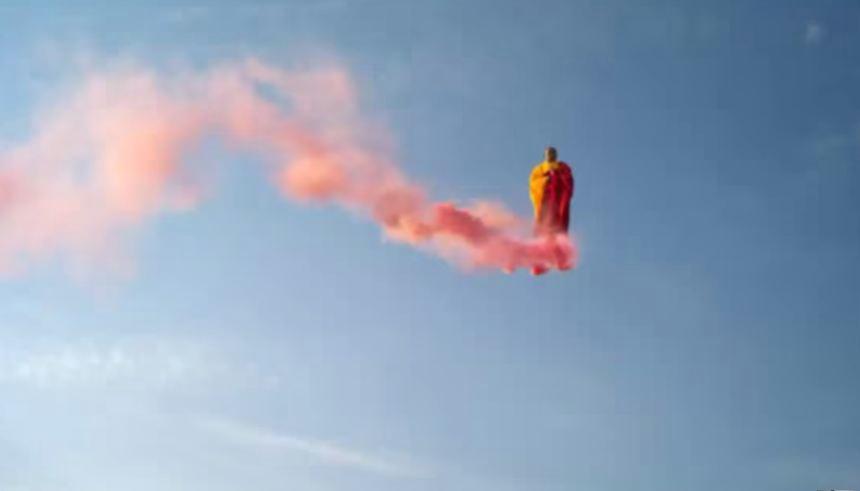 Hiện tượng lạ: Thiền sư bay trên không  ở Mexico