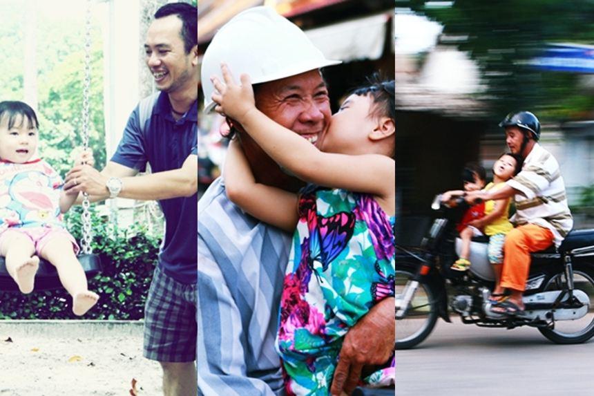 Những khoảnh khắc giản dị về tình cha con khiến ai cũng phải cảm động