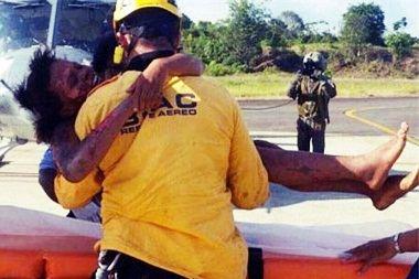 Bé sơ sinh sống sót kỳ diệu trong tai nạn máy bay
