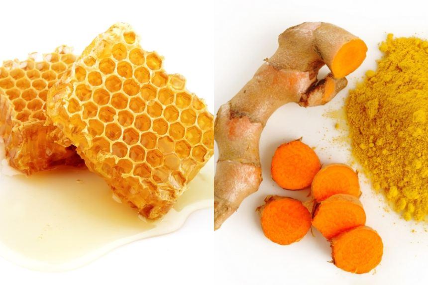 Bài thuốc trị đau dạ bày bằng nghệ và mật ong