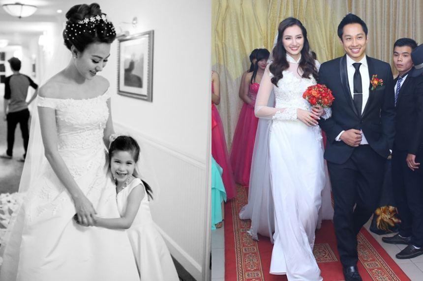 Những cô dâu xinh đẹp nhất showbiz Việt 2015