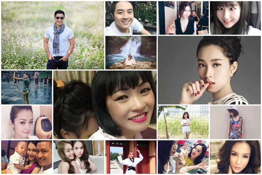 Ảnh đời thường của sao Việt qua facebook ngày 8/10