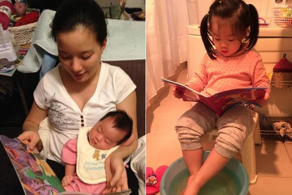 Cách MC Minh Trang tạo cho con thói quen đọc sách