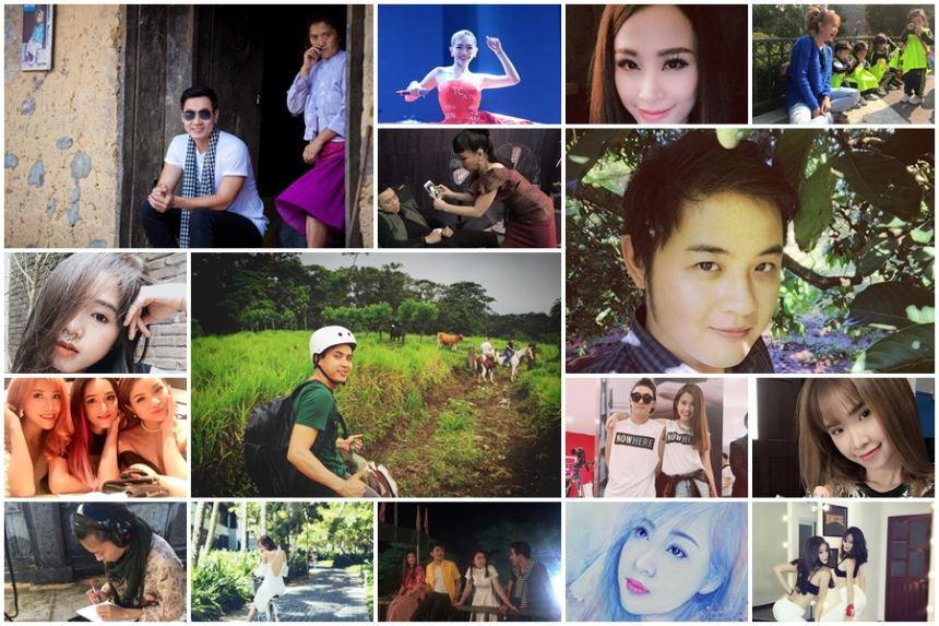 Ảnh đời thường của sao Việt qua facebook ngày 10/10