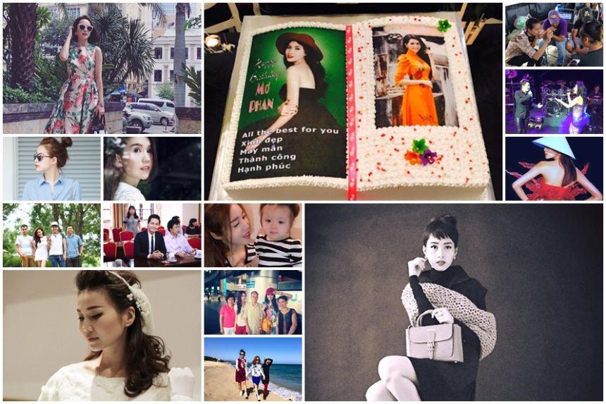 Ảnh đời thường của sao Việt qua facebook ngày 17/10