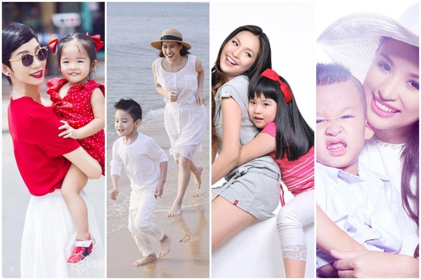 4 bà mẹ đơn thân nổi tiếng showbiz Việt