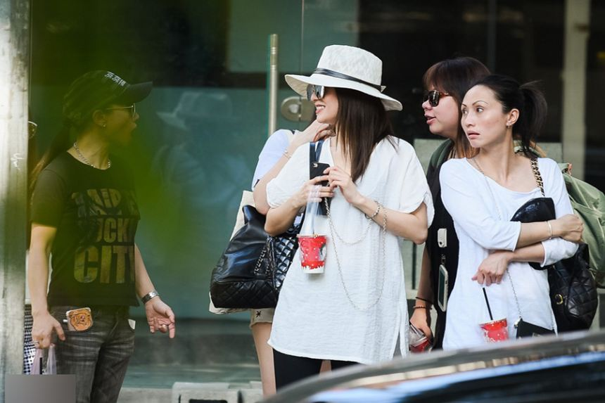 Sao Đài Loan bị bắt gặp đi chơi ở Sài Gòn