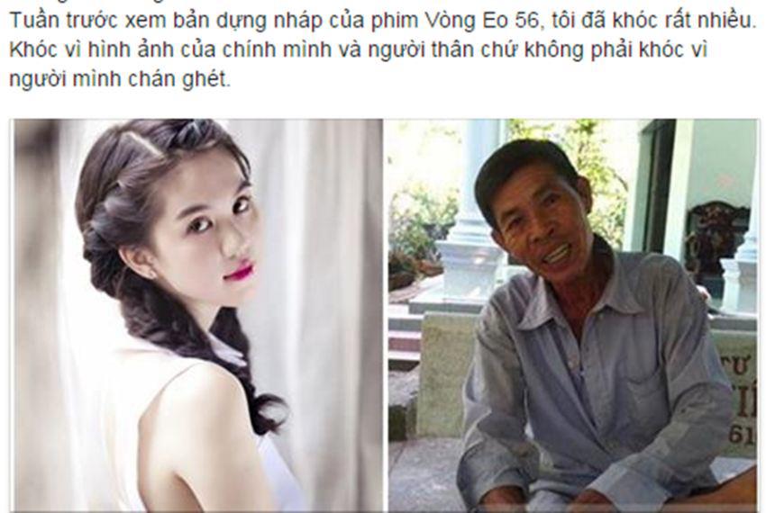 Bị nghi nói dối chuyện họ hàng để PR phim, Ngọc Trinh nói gì?