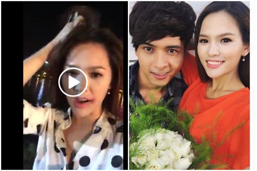 """Phi Huyền Trang tố ca sĩ Hồ Quang Hiếu """"đánh"""" tím mặt?"""