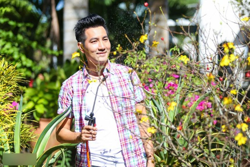 Nhà vườn của ca sĩ Nguyễn Phi Hùng ngày cuối năm