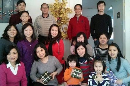 Người Việt ở Mỹ quây quần đón tết Nguyên đán