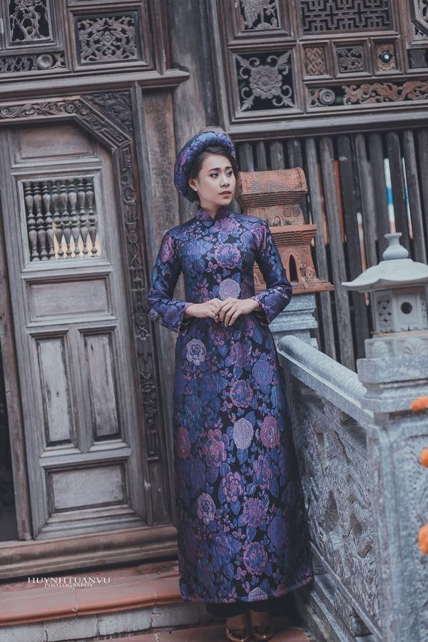 Hồ Bích Trâm diện áo dài đón năm mới tại quê nhà  Quảng Ngãi - Ảnh 6