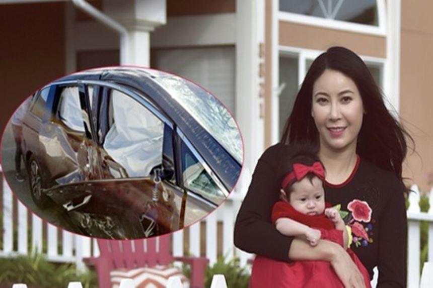 Hà Kiều Anh: 'Tôi từng bị tai nạn xe hơi nghiêm trọng khi chờ sinh con'