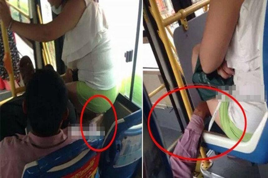 Cảnh báo kẻ biến thái chuyên sàm sỡ thiếu nữ trên đường phố Hà Nội