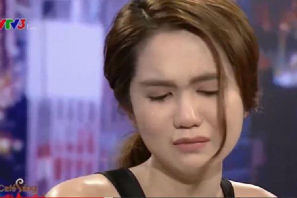 Ngọc Trinh bật khóc trên sóng VTV3: Tôi thấy chua xót cho chính mình