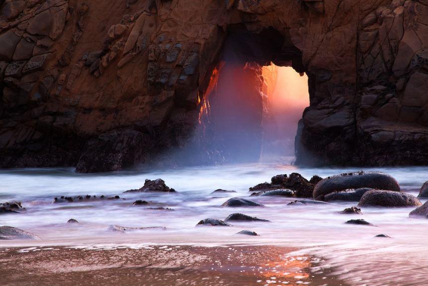 Pfeiffer - bãi biển toàn màu cát tím đầy thơ mộng