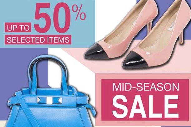 GIRLIE khuyến mãi Mid Season Sale – giảm giá đến 60%