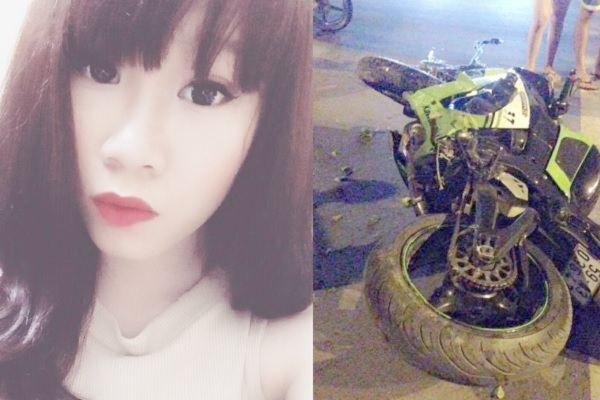 Chân dung hot girl xinh đẹp chết thảm khi được bạn trai chở trên mô tô PKL ZX-10R