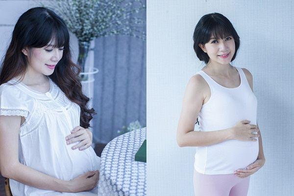 Vợ Lý Hải đẹp mặn mà khi mang thai con thứ tư