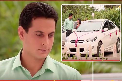 """Xem trước Cô dâu 8 tuổi - Phần 10, Tập 19: Vivek """"nghi ngờ"""" ý đồ của ông chủ tặng xe cho Sanchi"""