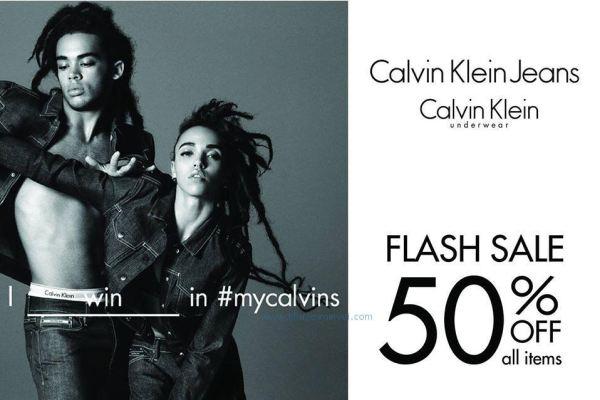 Calvin Klein khuyến mãi giảm giá đến 50% toàn bộ sản phẩm (26/5 - 29/5)