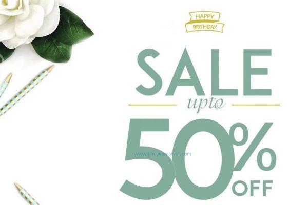May Boutique khuyến mãi giảm giá đến 50% (27/5 - 31/5)