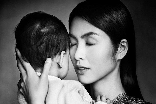Tăng Thanh Hà: 'Con là báu vật trời cho'