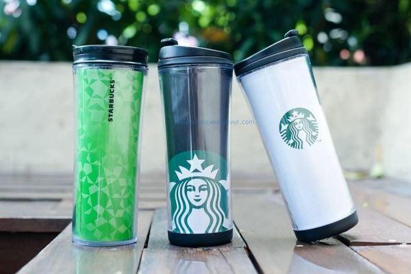 Starbucks khuyến mãi bộ đôi ly giữ nhiệt Tumbler giảm giá chỉ 250.000 đồng