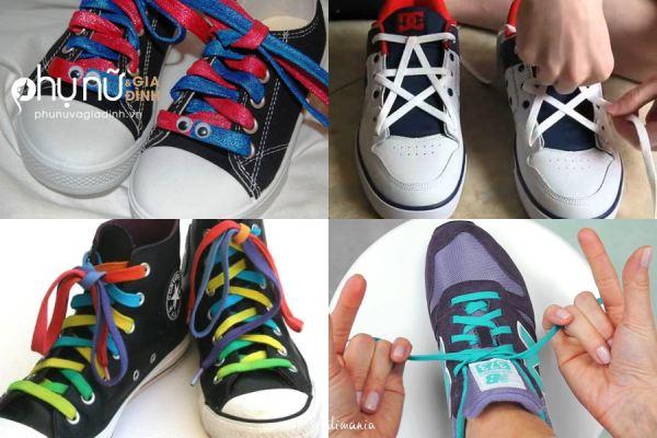 [Hướng dẫn] 1001 kiểu buộc dây giày cực độc khiến ai cũng phải 'lác mắt' khi  nhìn chân bạn