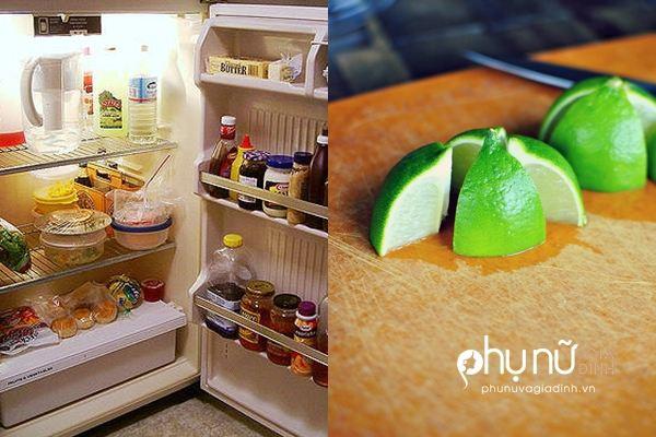 Cắt quả chanh làm tư cho vào tủ lạnh và xem điều kỳ diệu xảy ra