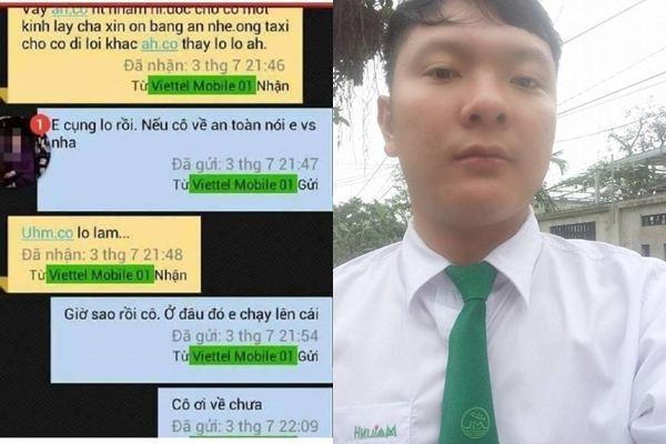 Lộ tin nhắn lo sợ của nữ giám thị trước khi bị giết tại Hà Tĩnh