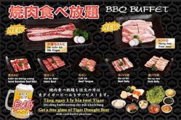 Nhà hàng Nhật Bản AKATONBO với menu BBQ Buffet bổ sung thêm 2 loại thịt mới & Tặng bia tươi từ tháng 7/2016