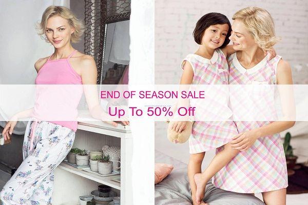 Từ tháng 7/2016 thời trang mặc nhà Vincy khuyến mãi Big Sale - Giảm giá đến 50%