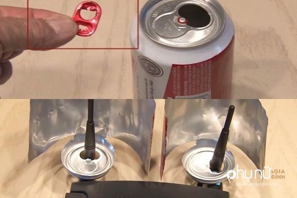 Cực hay: Tự chế thiết bị tăng sóng Wi-Fi gấp đôi chỉ bằng 1 lon bia