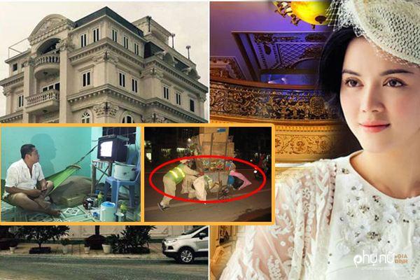 Showbiz Việt: Kẻ nhà dát vàng 50 tỷ, người ở nhà trọ nghèo