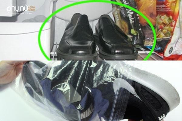Đặt đôi giày vào ngăn đá, bạn sẽ tiếc vì không biết mẹo này sớm hơn