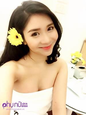 Bạn gái hot girl của Quang Lê gây bất ngờ với vòng 1 bất thường - Ảnh 7