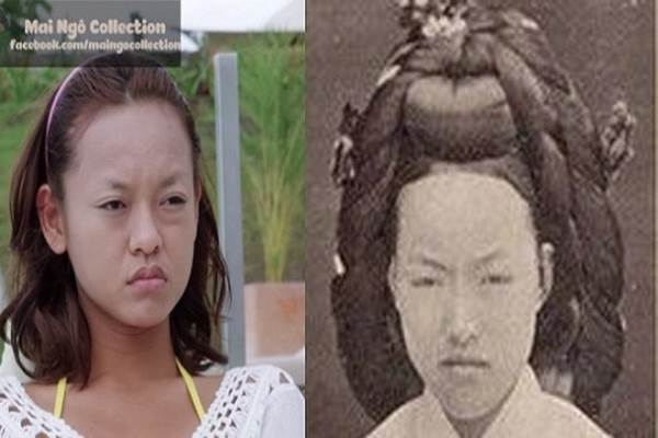 'Sốc' khi nhan sắc Mai Ngô được cho là giống hệt Hoàng hậu Hàn Quốc