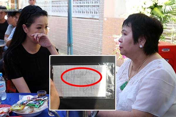 Minh Thuận chỉ viết được đúng 1 chữ này lên giấy khi gặp mẹ nuôi ở những ngày cuối đời